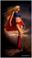 Supergirl by mikemusike