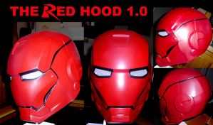 The Red Hood Helmet v1 by ajb3art