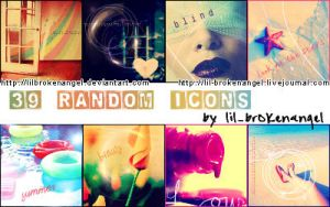 Icons - Random-Stock Set 5 by lilbrokenangel