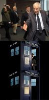 Ron Paul as Doctor Who - stages by David-Grant