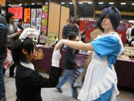 Sebastian michaelis and Ciel in Wonderland by Mikux3Cosplay