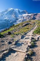 stairway to mt. rainier by stranj