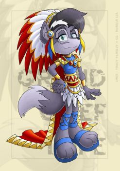 Collab - Grand Chief Lupe by kureejiilea