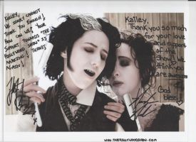 Hillywood Show Signatures by InvisibleCorpseGirl