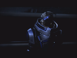 Garrus, alone by JulianGreystoke