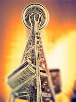 Below Space Needle v.4 by Scorpion31