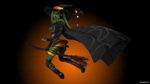 Witch Halloween Costume 002 by 0biwanken0bie