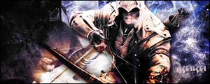 Connor Kenway Signature by KaKa663