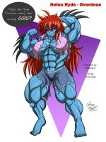 Helen Hyde - Overdose Hulk Out (Commission) by LunarDiaries
