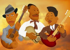 Blues Legends by FauxHead