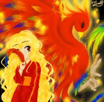 .:The Phoenix and the Girl:. by ICanReachTheStars