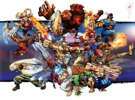 streetfighterFB by Xander7