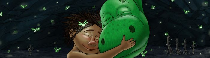 The Good Dinosaur Fan Art By Line by LineDetail