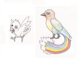 Rainbow Birds by MetalReaper