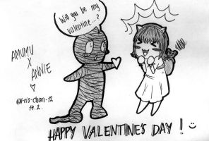 AMUMU X ANNIE - Happy Valentine's day by ii-ris-chan