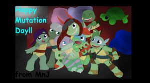 Happy (late) Mutation Day!!! by Momo-no-Ji