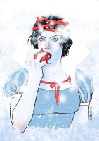 SnowWhite for AshcanAllstars by elena-casagrande