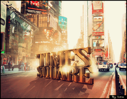 Times Square Typo by inmany