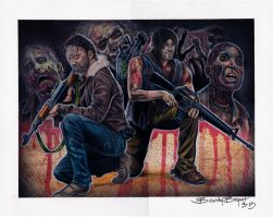 The Walking Dead by greyfoxdie85