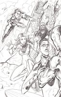 Ultimate Fantastic Four by alfred183