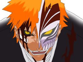 Hollow Ichigo by Scary-Dave