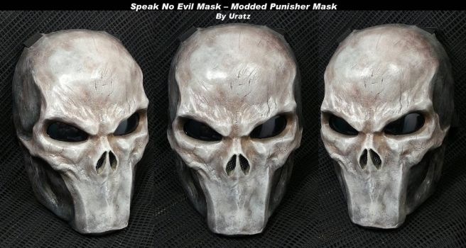 Silent Mouth Punisher Mask by Uratz-Studios