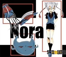 :Soul Eater OC:Nora Nystrom-Demon Claw (RP Group?) by dogstitch