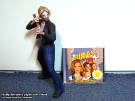 Buffy papercraft new size comp by ninjatoespapercraft