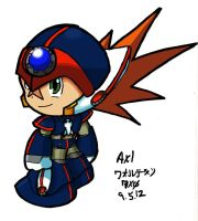Chibi Axl Colored by Fortekin7X0