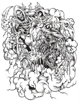 God Of Death4 by GTHC85