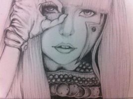 Lady Gaga by Kawaaaai