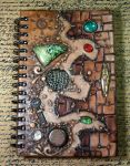 Completed Journal Front Cover by MandarinMoon