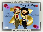 Zoey and Sky: A New Lovely Friendship by 2000thcenturyLinda