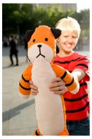 Calvin and Hobbes 2: fanime09 by Mythrime