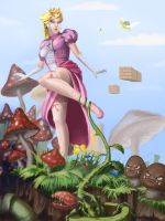 Princess Peach by scerg