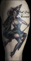 Ians Pinup by Reddogtattoo
