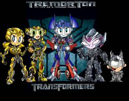 Teenage Robot Transformers by mayozilla