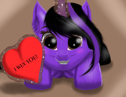 I wuv you! by Tillie-TMB