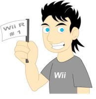 Wii R Number 1 by LegendaryFrog