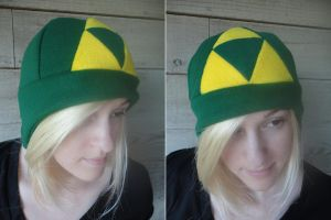 Zelda Triforce Hat by akiseo