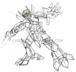 BW: Silverbolt Movie Style by carrinth