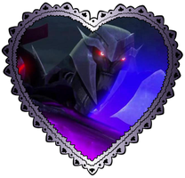 Large Megatron Heart Stamp 5 by TheDarkLadyMegaria