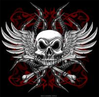 Skull and Cross Bones by Oblivion-design