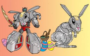 Happy Easter from Grimlock by Charger426
