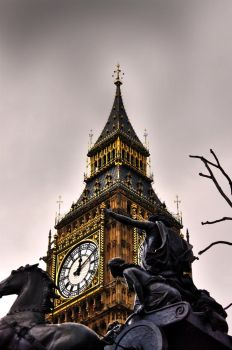 Big Ben Revisited by xtrevx