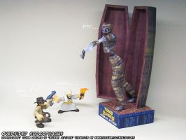 Indiana Jones and the Curse of the Paper Mummy by ninjatoespapercraft
