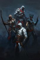 Assassin's Creed Commission by Raph04art