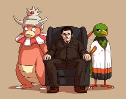 SH+PKMN - he is the government