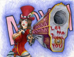 Mad Moxxi Bad Touch by DaemonReaper
