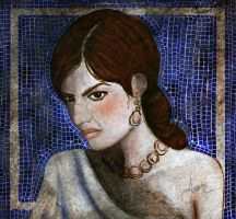 Medea In Mosaic by LibertineM